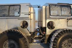 Вездеход Тром 8 грузовая модель с гидровинтом